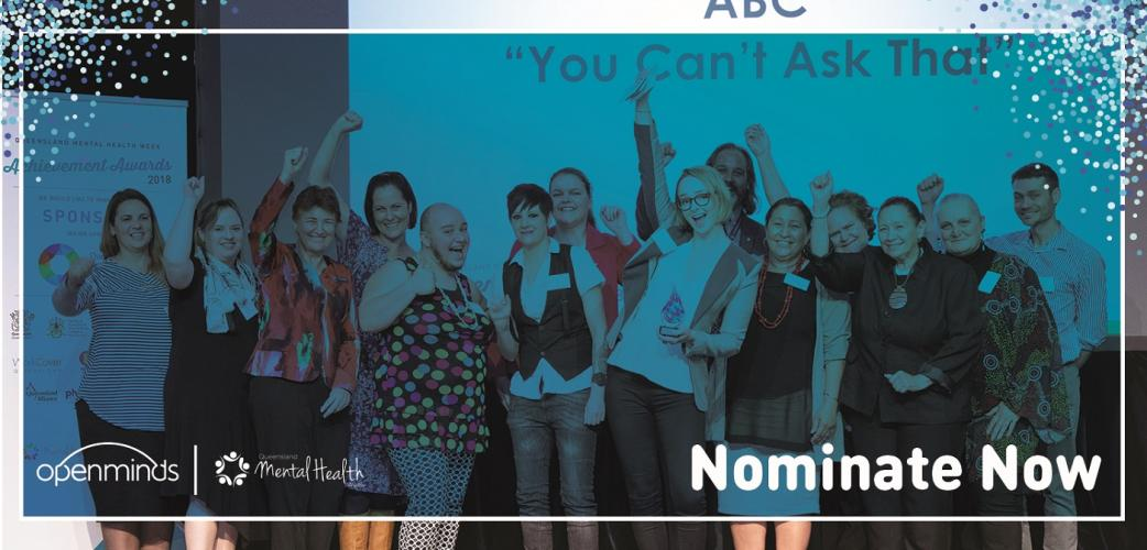 Deadline extended for QLD Mental Health Week Achievement Awards!